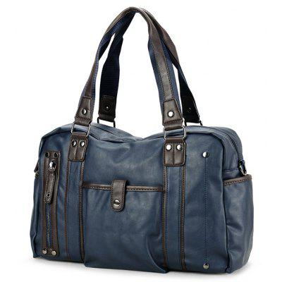 Men Fashion Bag de ombro com duplo uso