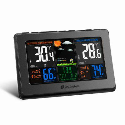 Houzetek Wireless Automatic Color Weather Station