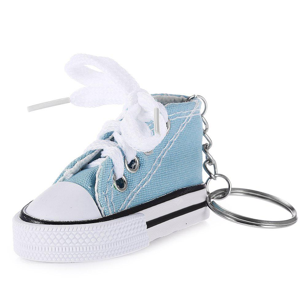 Emulational Canvas Shoes Modeling Key Chain