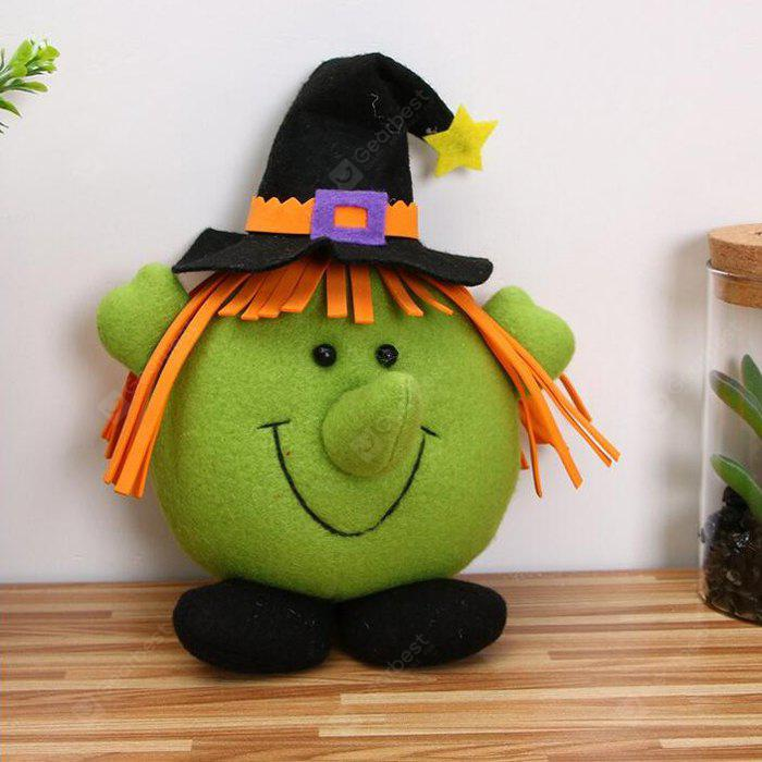 Buy Cartoon Witch Stuffed Toy Halloween Decoration #01