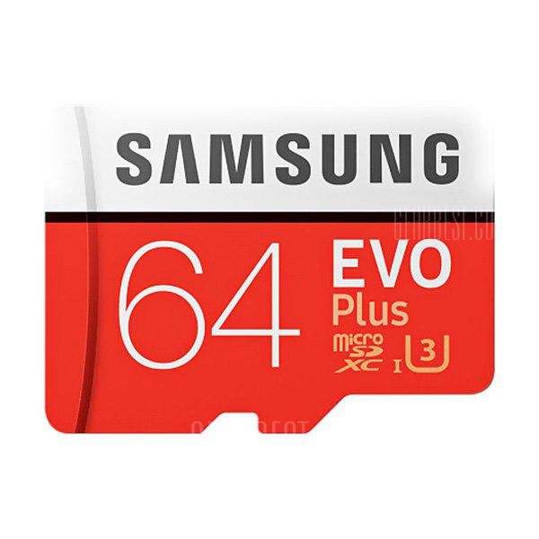 Bons Plans Gearbest Amazon - Samsung Ultra Class10 Micro SDXC UHS 3 Professional 64g