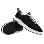 Masculino Breathable Soft Wearable Light Casual Shoes - PRETO