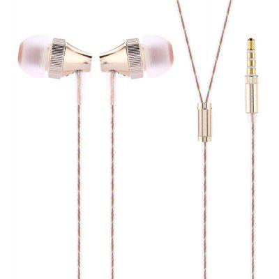 UIISII HM - 6 In-ear Wired Stereo Bass Earphones with Mic