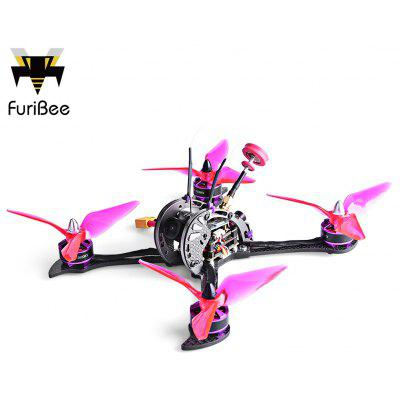 FuriBee X215 PRO 215mm FPV Racing Drone - BNF - WITH FRSKY RECEIVER COLORMIX