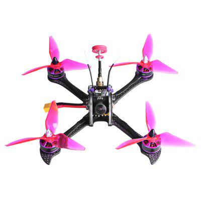 FuriBee X215 PRO 215mm FPV Racing Drone - BNFBrushless FPV Racer<br>FuriBee X215 PRO 215mm FPV Racing Drone - BNF<br><br>Brand: FuriBee<br>Continuous Current: 30A<br>Firmware: BLHeli-S<br>Flight Controller Type: F4<br>KV: 2600<br>Model: 2206<br>Motor Type: Brushless Motor<br>Package Contents: 1 x X215 PRO FPV Racing Drone, 1 x 5.8G Pagoda Antenna, 1 x Camera Mount, 1 x FrSky XM+ Receiver<br>Package size (L x W x H): 30.00 x 25.00 x 18.00 cm / 11.81 x 9.84 x 7.09 inches<br>Package weight: 0.6840 kg<br>Product size (L x W x H): 28.00 x 24.00 x 16.00 cm / 11.02 x 9.45 x 6.3 inches<br>Product weight: 0.4900 kg<br>Sensor: CCD<br>Type: Frame Kit<br>Version: BNF<br>Video Resolution: 1200TVL ( horizontal )