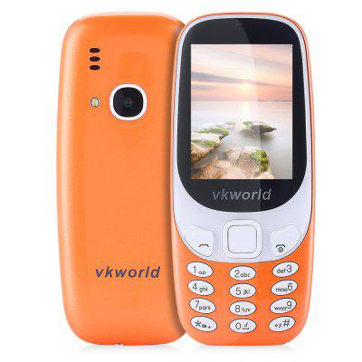 Buy DARKSALMON Vkworld Z3310 Quad Band Unlocked Phone for $20.80 in GearBest store