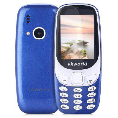 Buy BLUE Vkworld Z3310 Quad Band Unlocked Phone for $20.80 in GearBest store