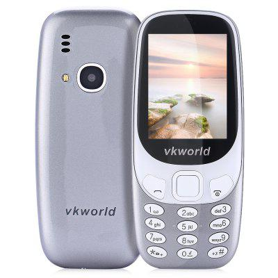 Buy GRAY Vkworld Z3310 Quad Band Unlocked Phone for $20.80 in GearBest store