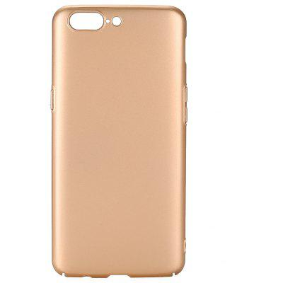 Buy GOLDEN Luanke Metallic Paint PC Hard Phone Case for OnePlus 5 for $4.31 in GearBest store