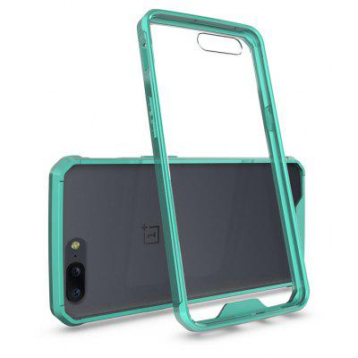 Buy GREEN Practical Design Phone Cover for OnePlus 5 for $4.39 in GearBest store