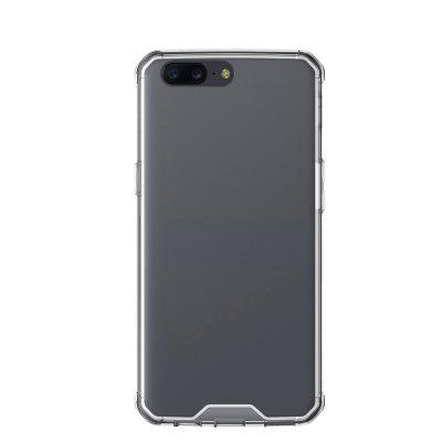 Practical Design Phone Cover for OnePlus 5Cases &amp; Leather<br>Practical Design Phone Cover for OnePlus 5<br><br>Features: Back Cover<br>Material: Acrylic, TPU<br>Package Contents: 1 x Cover Case<br>Package size (L x W x H): 16.60 x 8.90 x 2.10 cm / 6.54 x 3.5 x 0.83 inches<br>Package weight: 0.0500 kg<br>Product Size(L x W x H): 15.60 x 7.90 x 1.10 cm / 6.14 x 3.11 x 0.43 inches<br>Product weight: 0.0300 kg<br>Style: Modern