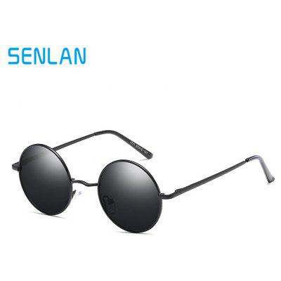 SENLAN 7711 Fashion Unisex Anti UV Sunglasses