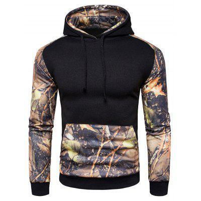Buy BLACK L Comfortable Long Sleeve Hooded Sweatshirt for $30.49 in GearBest store