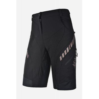Buy M BLACK Men Comfortable Breathable Loose Summer Cycling Shorts for $50.18 in GearBest store