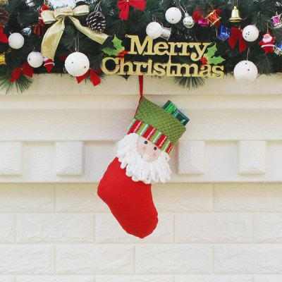 Santa Claus Pattern Christmas Festival StockingChristmas Supplies<br>Santa Claus Pattern Christmas Festival Stocking<br><br>Package Contents: 1 x Christmas Stocking, 1 x OPP Package Bag<br>Package size (L x W x H): 33.00 x 16.00 x 20.50 cm / 12.99 x 6.3 x 8.07 inches<br>Package weight: 0.0700 kg<br>Product weight: 0.0500 kg<br>Usage: Christmas