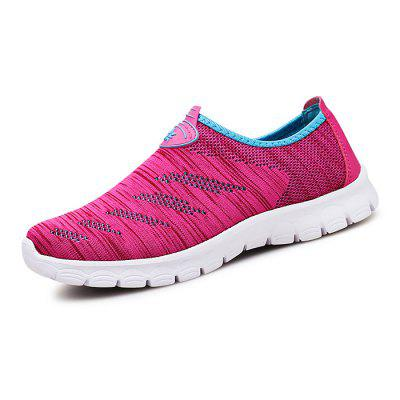 Female Breathable Slip On Casual ShoesWomens Sneakers<br>Female Breathable Slip On Casual Shoes<br><br>Closure Type: Slip-On<br>Contents: 1 x Pair of Shoes<br>Materials: Mesh, Rubber, Woven Fabric<br>Occasion: Daily, Casual<br>Outsole Material: Rubber<br>Package Size ( L x W x H ): 30.00 x 20.00 x 11.00 cm / 11.81 x 7.87 x 4.33 inches<br>Package Weights: 0.8400<br>Seasons: Autumn,Spring,Summer<br>Style: Comfortable, Casual<br>Toe Shape: Round Toe<br>Type: Skateboarding Shoes<br>Upper Material: Woven Fabric