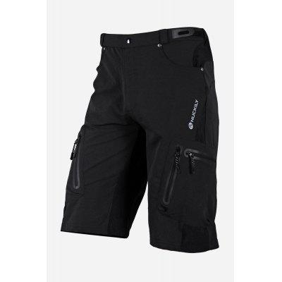 Buy BLACK Men Comfortable Breathable Loose Summer Cycling Shorts for $50.18 in GearBest store