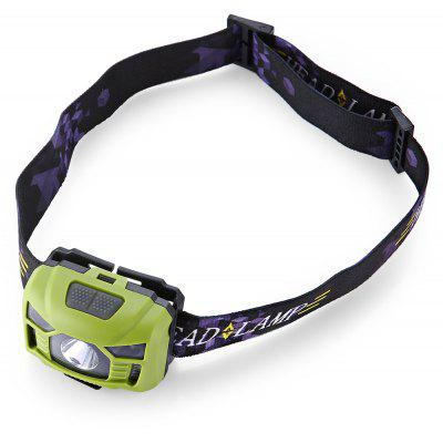 3W 6000K 240Lm LED Headlight for Camping
