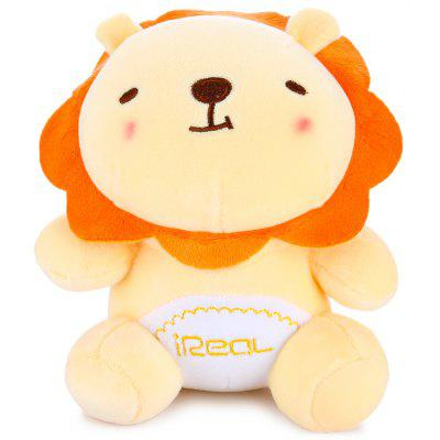 21cm Cute Cartoon Jungle Lion Short Plus Toy