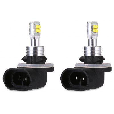 Buy SILVER AND BLACK 2pcs CREE 881 8 SMD2525 Car Fog Light for $11.63 in GearBest store