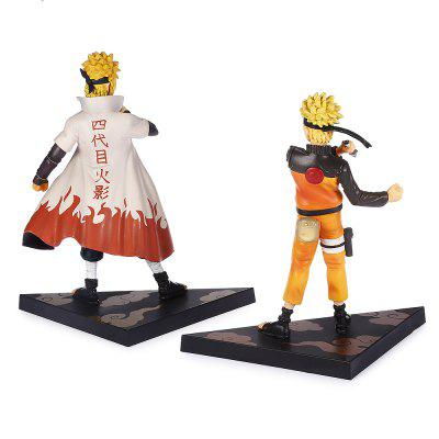 17cm + 18.5cm Cool Japanese Cartoon PVC Figurine 2pcs / setMovies &amp; TV Action Figures<br>17cm + 18.5cm Cool Japanese Cartoon PVC Figurine 2pcs / set<br><br>Completeness: Finished Goods<br>Gender: Unisex<br>Materials: PVC<br>Package Contents: 2 x Figurine ( with Mount )<br>Package size: 14.50 x 20.50 x 20.00 cm / 5.71 x 8.07 x 7.87 inches<br>Package weight: 0.5190 kg<br>Product weight: 0.2450 kg<br>Stem From: Japan<br>Theme: Movie and TV