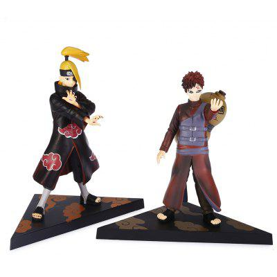16cm + 17.7cm PVC Japanese Ainmation Figurine 2pcs