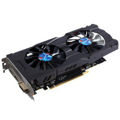 Yeston NVIDIA GeForce GTX 1050 2GB Graphics CardGraphics &amp; Video Cards<br>Yeston NVIDIA GeForce GTX 1050 2GB Graphics Card<br><br>Brand: Yeston<br>Chipset Manufacturer: NVIDIA<br>CUDA Cores: 640<br>Engine Clock: 1354MHz<br>Graphics Chipset: GeForce GTX1050<br>I/O Interface: 1 x VGA, 1 x HDMI, 1 x DVI<br>Interface Type: PCI-E 3.0<br>Maximum Resolution: 7680 x 4320<br>Memory Bus Width: 128Bit<br>Package size: 26.00 x 15.00 x 5.00 cm / 10.24 x 5.91 x 1.97 inches<br>Package weight: 0.7690 kg<br>Packing List: 1 x Graphics Card<br>PCI Express Type: X16<br>Power: 75W<br>Power Interface: 6Pin<br>Power Supply Type: 3+1<br>Process Technology: 14nm<br>Product size: 23.90 x 11.00 x 3.90 cm / 9.41 x 4.33 x 1.54 inches<br>Product weight: 0.3560 kg<br>Radiator Type: Dual Fans<br>Supports System: Windows 10, Windows 7, Windows 8<br>Video Memory Capacity: 2GB<br>Video Memory Frequency: 7008MHz<br>Video Memory Type: GDDR5