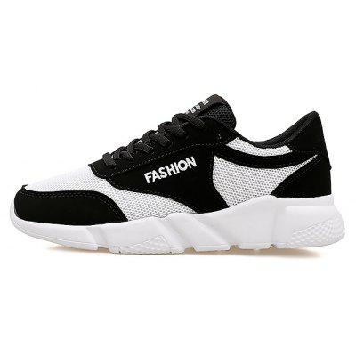 Masculino respirável Lace Up Running Shoes