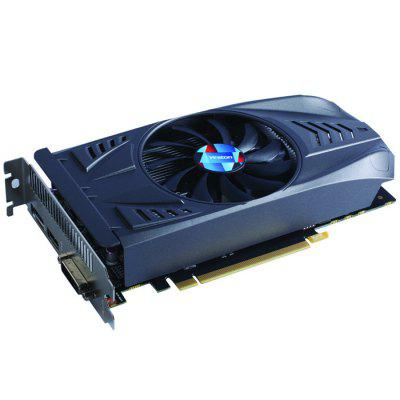 Yeston NVIDIA GTX 1050 2GB GDDR5 Graphics Card computador cooling fan replacement for msi twin frozr ii r7770 hd 7770 n460 n560 gtx graphics video card fans pld08010s12hh