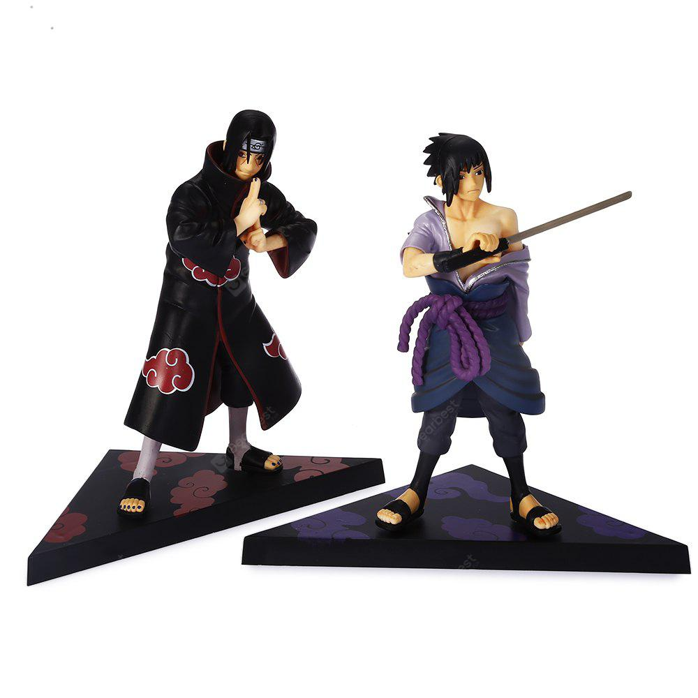 16.5cm + 16.7cm Japanese Animation PVC Figurine 2pcs / set