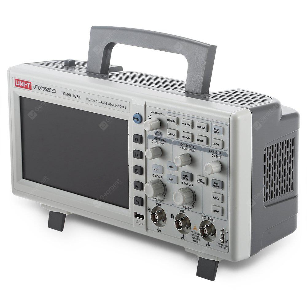 UNI - T UTD2052CEX Digital 2-channel Storage Oscilloscope