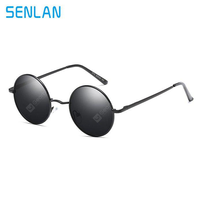 SENLAN 7711 Fashion Unisex Anti UV Óculos de sol