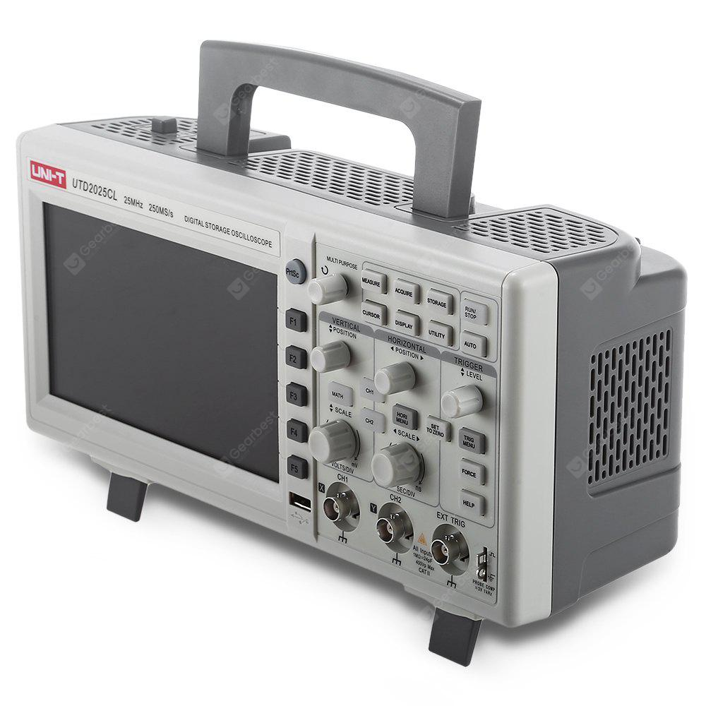 UNI - T UTD2025CL Digital 2-channel Storage Oscilloscope