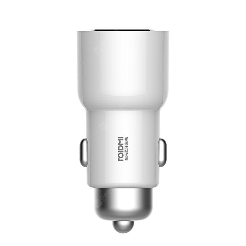 Xiaomi ROIDMI 3S Bluetooth Car Charger - WHITE