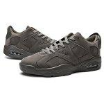 Male Breathable Wearable Running Sneakers - GRAY