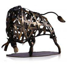 MCYH513 Creative Metal Figurine Iron Cow Figurine