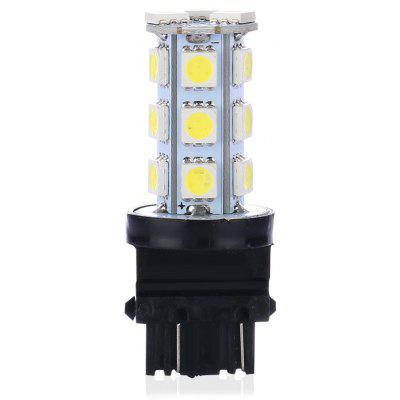 Buy WHITE Single PC White 3157 18-SMD Reversing Signal Light Bulb for $1.29 in GearBest store