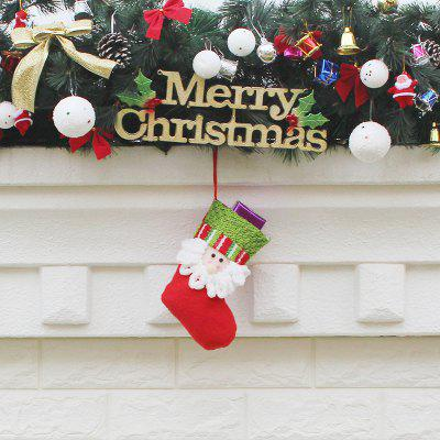 Santa Claus Decorative Hanging Sock for ChristmasChristmas Supplies<br>Santa Claus Decorative Hanging Sock for Christmas<br><br>For: Friends, Kids<br>Package Contents: 1 x Sock<br>Package size (L x W x H): 13.00 x 20.00 x 2.00 cm / 5.12 x 7.87 x 0.79 inches<br>Package weight: 0.2500 kg<br>Product size (L x W x H): 12.00 x 19.00 x 1.00 cm / 4.72 x 7.48 x 0.39 inches<br>Product weight: 0.2300 kg<br>Usage: Christmas