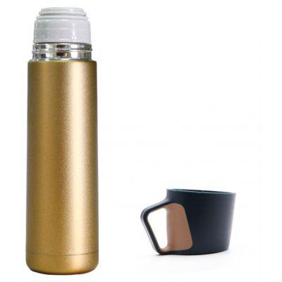 Fashion Solid Color Double Wall Stainless Steel Thermos Bottle
