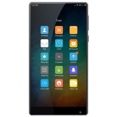 Xiaomi Mi MIX 4G Phablet International VersionCell phones<br>Xiaomi Mi MIX 4G Phablet International Version<br><br>2G: GSM 1800MHz,GSM 1900MHz,GSM 850MHz,GSM 900MHz<br>3G: WCDMA B1 2100MHz,WCDMA B2 1900MHz,WCDMA B5 850MHz,WCDMA B8 900MHz<br>4G LTE: FDD B1 2100MHz,FDD B2 1900MHz,FDD B3 1800MHz,FDD B4 1700MHz,FDD B5 850MHz,FDD B7 2600MHz,FDD B8 900MHz<br>Additional Features: WiFi, 3G, 4G, Alarm, Bluetooth, Browser, Calculator, Calendar, Proximity Sensing, Camera, People, MP4, MP3, Light Sensing System, Gravity Sensing, GPS, Fingerprint recognition<br>Back camera: 16.0MP<br>Battery Capacity (mAh): 4400mAh<br>Battery Type: Non-removable<br>Bluetooth Version: Bluetooth V4.2<br>Brand: Xiaomi<br>Camera Functions: Anti Shake, Face Beauty, HDR, Panorama Shot, Smile Capture, Smile Detection, Face Detection<br>Camera type: Dual cameras (one front one back)<br>Cell Phone: 1<br>Cores: Quad Core<br>CPU: Qualcomm Snapdragon 821<br>External Memory: Not Supported<br>Front camera: 5.0MP<br>Google Play Store: Yes<br>GPU: Adreno 530<br>Highlight: Full Ceramic Body / Edgeless Design / 18K Gold / Quick Charge 3.0<br>I/O Interface: 2 x Nano SIM Slot, Type-C, 3.5mm Audio Out Port<br>Language: Bahasa Indonesia, Bahasa Melayu, Czech, Croatian, German, English, Spanish, French, Italian, Lietuviu, Hungarian, Bulgarian, Polish, Portuguese, Romanian, Slovenian, Slovak, Vietnamese, Turkish, Greek<br>MS Office format: Word, Excel, PPT<br>Music format: MP2, WAV, OGG, MP3, AAC<br>Network type: FDD-LTE,GSM,TD-SCDMA,TDD-LTE,WCDMA<br>OS: MIUI 8 or MIUI 8 Above<br>Package size: 17.50 x 11.30 x 4.10 cm / 6.89 x 4.45 x 1.61 inches<br>Package weight: 0.3800 kg<br>Picture format: GIF, BMP, PNG, JPEG, JPG<br>Power Adapter: 1<br>Product size: 15.80 x 8.19 x 0.79 cm / 6.22 x 3.22 x 0.31 inches<br>Product weight: 0.2090 kg<br>RAM: 6GB RAM<br>ROM: 256GB<br>Screen resolution: 2048 x 1080 (2K)<br>Screen size: 6.4 inch<br>Screen type: Capacitive<br>Sensor: Accelerometer,Ambient Light Sensor,E-Compass,Gravity Sensor,Gyroscope,Hall Sensor,Proximity Sensor<br>Service Provider: Unlocked<br>SIM Card Slot: Dual SIM, Dual Standby<br>SIM Card Type: Dual Nano SIM<br>SIM Needle: 1<br>TD-SCDMA: TD-SCDMA B34/B39<br>TDD/TD-LTE: TD-LTE B38/B39/B40/41<br>Type: 4G Phablet<br>USB Cable: 1<br>Video format: MKV, M4A, FLV, 3GP, MP4, 1080P<br>Video recording: 4K Video,Support 720P Video Recording<br>WIFI: 802.11a/b/g/n/ac wireless internet<br>Wireless Connectivity: Bluetooth, 4G, 3G, 2.4GHz/5GHz WiFi