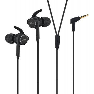 UIISII BA - T7 In-ear Wired Metal Hybrid Stereo Earphones