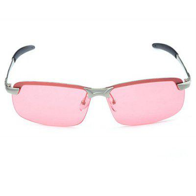 Buy PINK AND SILVER CTSmart 3043 Multifunctional Fishing Unisex Sunglasses for $13.06 in GearBest store