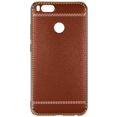 Buy BROWN Luanke Electroplating TPU Phone Case for Xiaomi Mi 5X for $3.07 in GearBest store