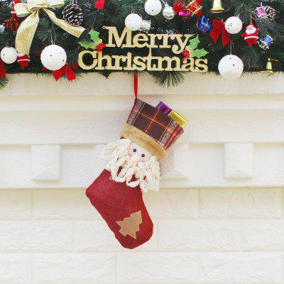 Christmas Santa Claus Pattern Decorative Hanging SockChristmas Supplies<br>Christmas Santa Claus Pattern Decorative Hanging Sock<br><br>For: Kids<br>Package Contents: 1 x Sock<br>Package size (L x W x H): 20.00 x 33.00 x 1.00 cm / 7.87 x 12.99 x 0.39 inches<br>Package weight: 0.0500 kg<br>Product size (L x W x H): 19.50 x 32.00 x 15.00 cm / 7.68 x 12.6 x 5.91 inches<br>Product weight: 0.0470 kg<br>Usage: Christmas, Party