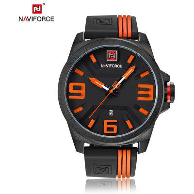 Buy ORANGE NAVIFORCE Fashion Japan Movement Men Watch for $16.99 in GearBest store