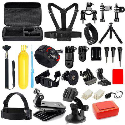 Buy BLACK Universal Camera Accessory Set for GoPro for $29.94 in GearBest store