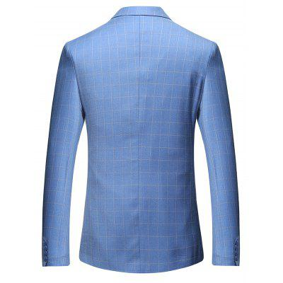 Male Checked Plus Size Casual BlazerMens Blazers<br>Male Checked Plus Size Casual Blazer<br><br>Material: Polyester, Viscose<br>Package Contents: 1 x Blazer<br>Package size: 35.00 x 30.00 x 2.00 cm / 13.78 x 11.81 x 0.79 inches<br>Package weight: 0.8700 kg<br>Product weight: 0.8500 kg
