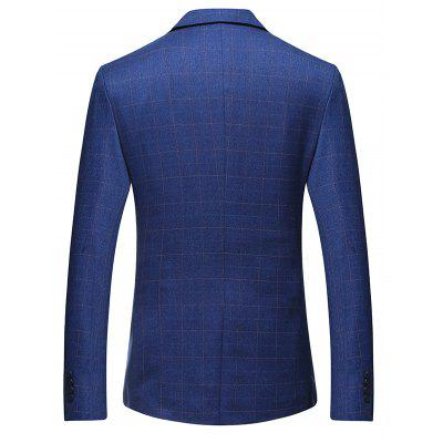 Checked Two Buttons Leisure Blazer for MenMens Blazers<br>Checked Two Buttons Leisure Blazer for Men<br><br>Material: Polyester, Viscose<br>Package Contents: 1 x Blazer<br>Package size: 35.00 x 30.00 x 2.00 cm / 13.78 x 11.81 x 0.79 inches<br>Package weight: 0.8700 kg<br>Product weight: 0.8500 kg