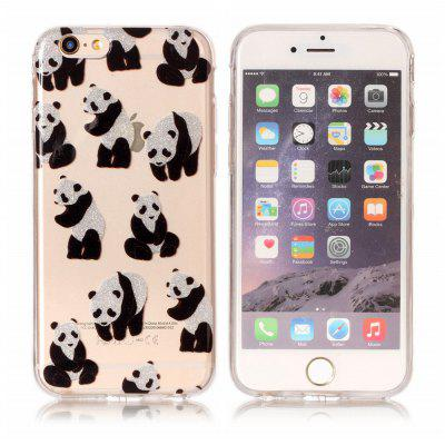 ASLING TPU Panda Thema Hülle für iPhone 6S Plus / 6 Plus