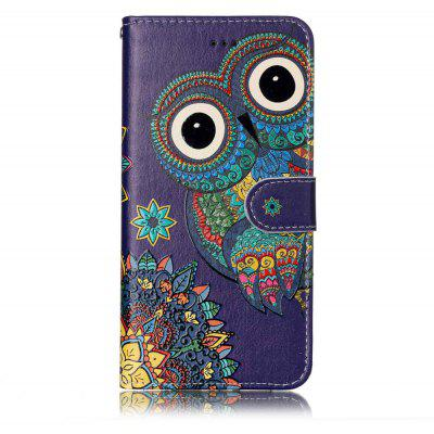 Colored Owl Design Protector with Card Slot